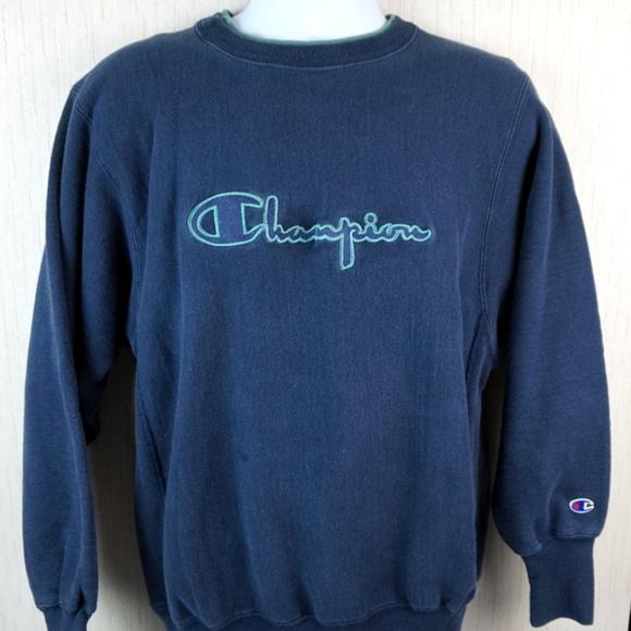 57785cbaff26 Champion Other - VTG 90s Champion Spellout Reverse Weave Sweatshirt
